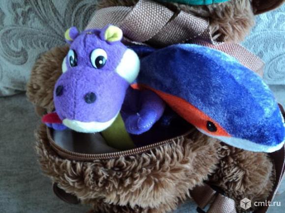 Мягкие игрушки пакетом. Фото 9.