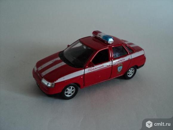 Детская пожарная машинка. Фото 1.