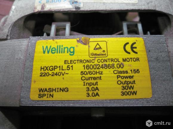 Электродвигатель для стиральной машины. Фото 2.