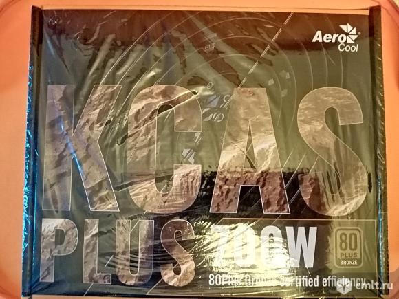 Блок питания Aerocool KCAS PLUS-700W (RTL) 700W ATX (24+2x4+2x6/8пин). Фото 1.