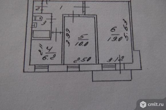 2-комнатная квартира 45 кв.м. Фото 18.