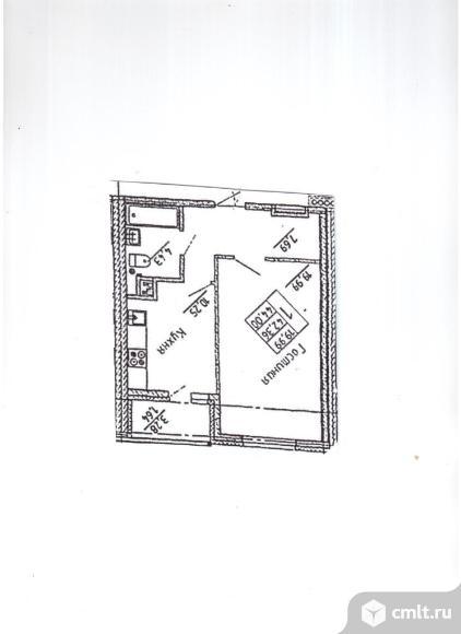 """Однокомнатная квартира в ЖД """"Эльбрус"""". Цена дешевле рыночной.. Фото 5."""