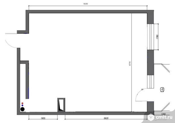 2-комнатная квартира 56 кв.м. Фото 8.
