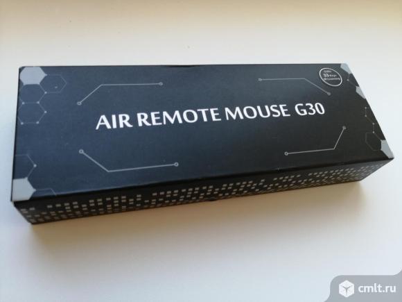 Пульт голосовой с гироскопом Air mouse новый. Фото 1.