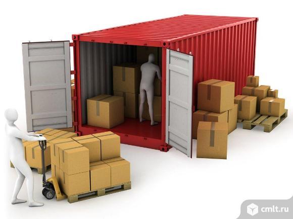 Приемка вагонов, складирование, хранение и отгрузка грузов. Фото 1.