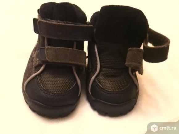 Ботинки детские осень-весна Adidas. Фото 1.
