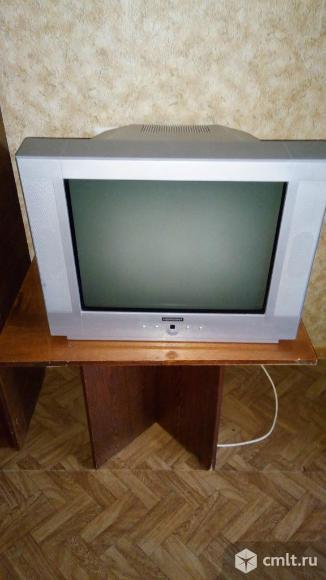 Телевизор кинескопный цв. horizont horizont. Фото 1.