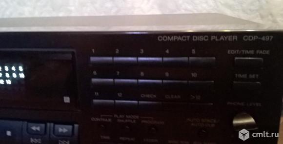 ПКД Sony cdp-497. Фото 3.