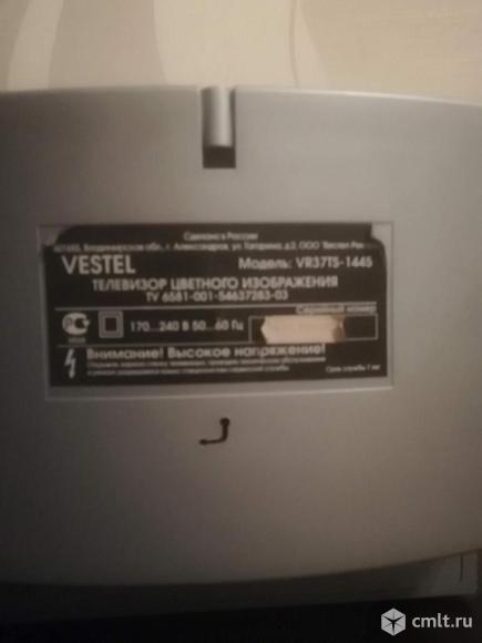 Телевизор кинескопный цв. Vestel VR37TS-1445. Фото 4.