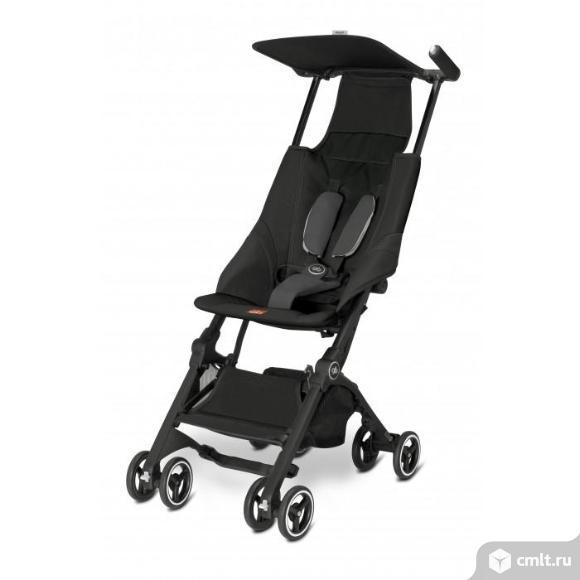 Детская прогулочная коляска  компактная. Фото 1.