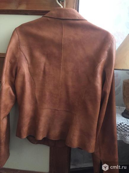 Куртка кожаная турецкая. Фото 1.