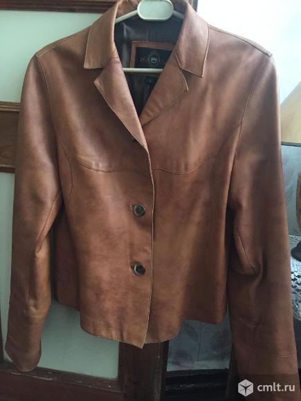 Куртка кожаная турецкая. Фото 2.