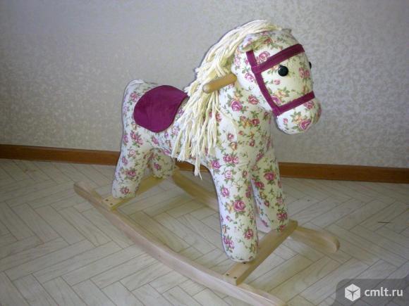 Конь-качалка детская. Фото 2.