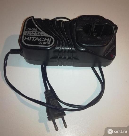 Зарядное устройство UC18YG для шуруповёрта HITACHI   ( UC18YG). Фото 1.