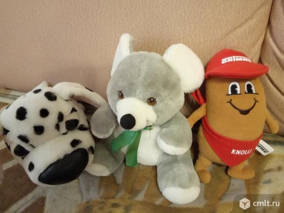 Новые мягкие игрушки. Фото 1.