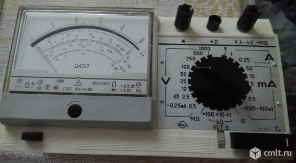Прибор электроизмерительный комбинированный Ц-4317. Фото 1.