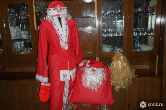 Новогодний костюм деда Мороза. Фото 1.