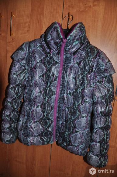Куртка-жилетка весна-осень Orby на 7-8 лет. Фото 1.