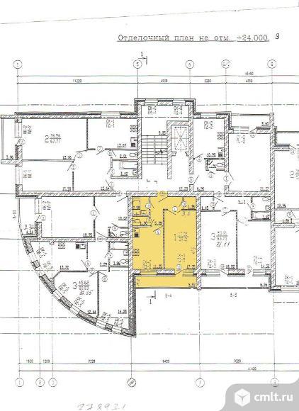 1-комнатная квартира 46 кв.м. Фото 3.