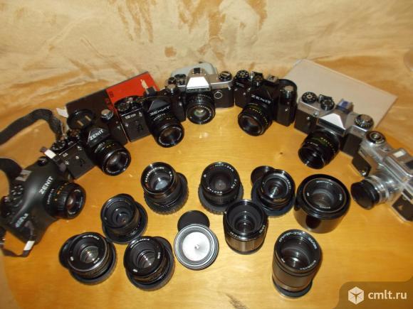 Пленочные фотоаппараты. Фото 8.