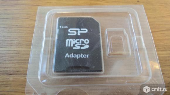 Переходник (адаптер) для карт памяти Micro SD.. Фото 1.
