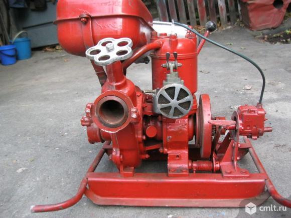 пожарная водопомпа   мп-600в. Фото 1.