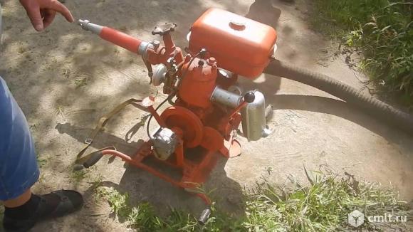 пожарная водопомпа   мп-600в. Фото 10.