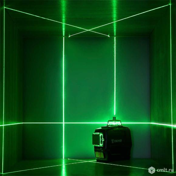 Лазерный уровень (нивелир) 3D Master Pro deko. Фото 5.