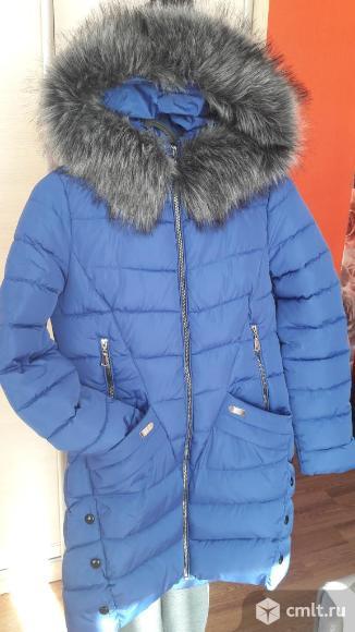 Продаю пальто-пуховик. Фото 4.
