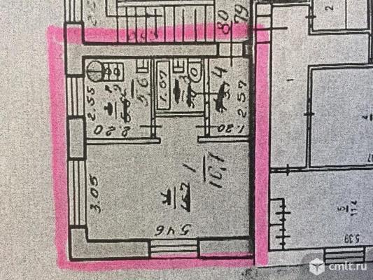 1-комнатная квартира 28,9 кв.м. Фото 5.