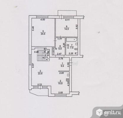 3-комнатная квартира 161,3 кв.м. Фото 1.