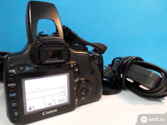 Фотоаппарат цифровой Зеркальный Фотоаппарат Canon EOS 400D Kit. Фото 2.