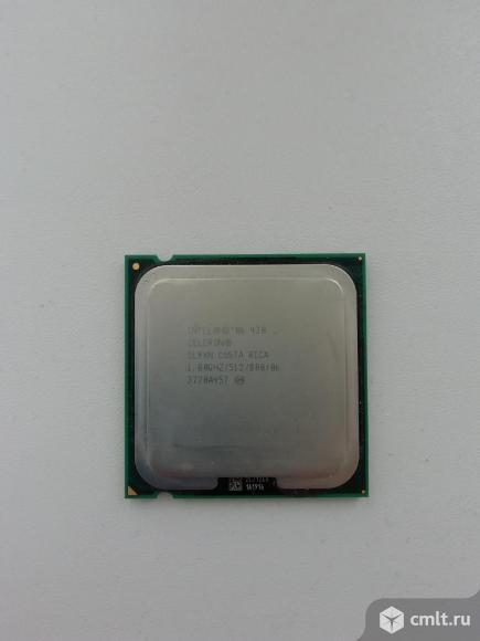 Процессор celeron 1.8 ггц. Фото 2.