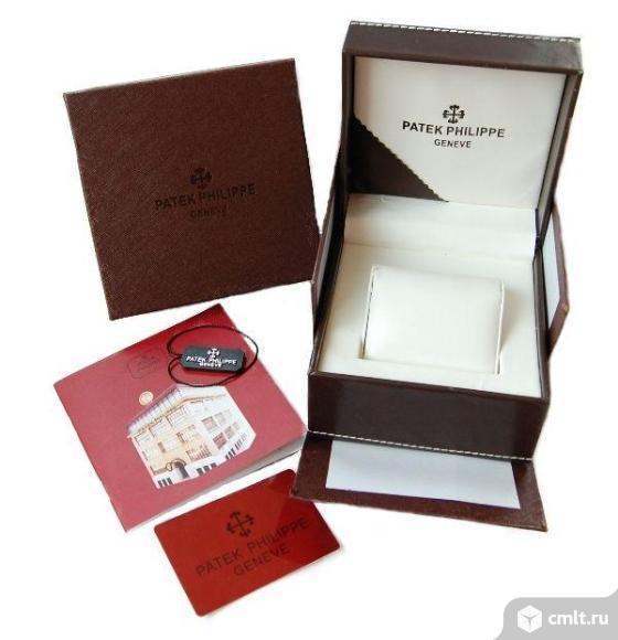 Продаю  кожаную коробку для часов Patek Philippe.. Фото 1.