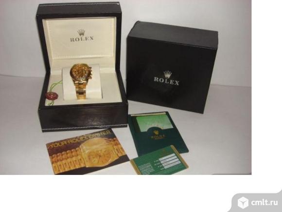 Продаю кожаную шкатулку для часов Rolex.. Фото 1.