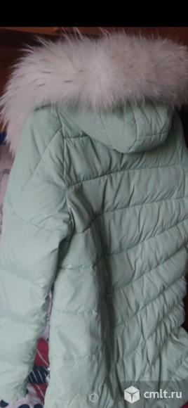 Пуховик (куртка зимняя/наполнитель холлофайбер). Фото 3.