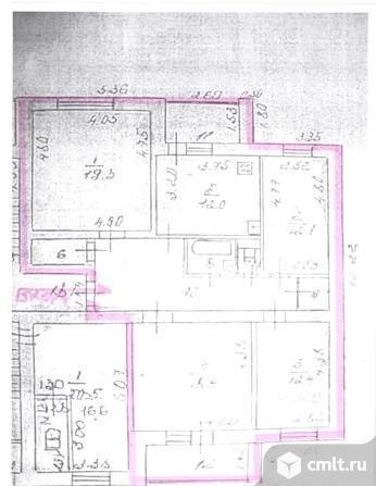 4-комнатная квартира 102,7 кв.м. Фото 19.