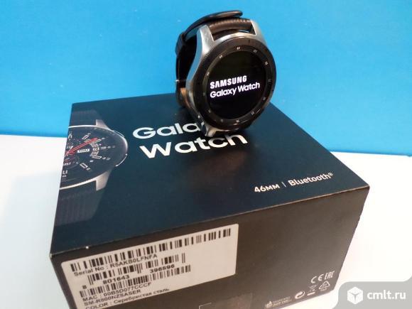 Часы Samsung Galaxy Watch (46 mm). Фото 1.