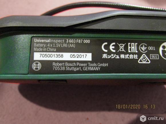 Эндоскоп BOSCH Universalinspectect 3 603 F87 000. Фото 3.