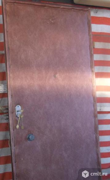 Продам дверь металлическую б/у. Фото 1.