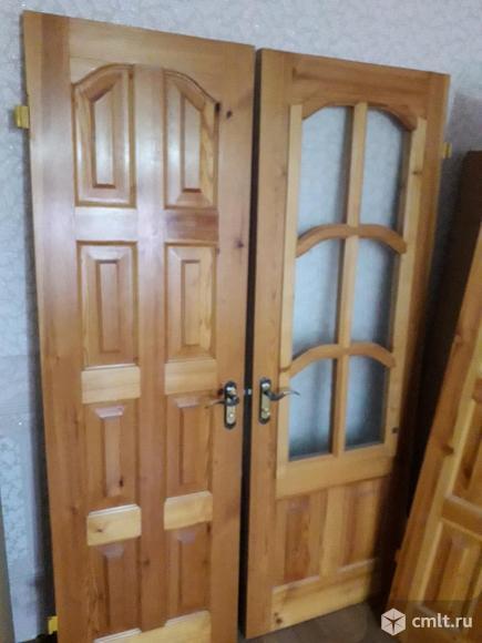 Двери межкомнатные деревянные(массив). Фото 1.