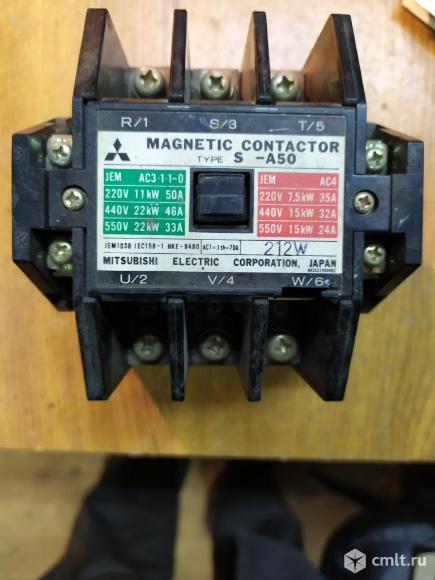 Контактор электромагнитный производство япония. Фото 1.