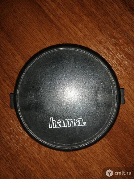 Крышка объектива 67 мм Hama. Фото 1.