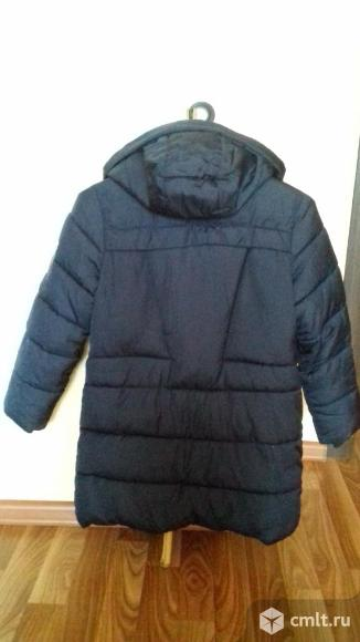 Куртка удлиненная на синтепоне. Фото 2.