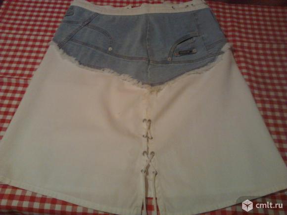 Юбка джинсовая. Фото 5.
