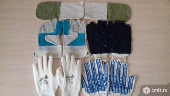 Перчатки,, рукавицы рабочие. Фото 1.