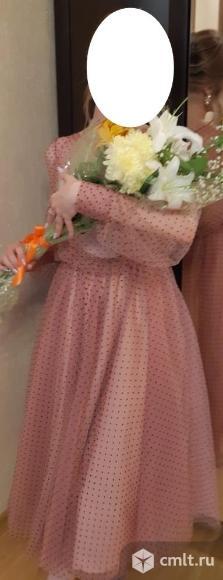 Платье вечернее выпускное. Фото 1.
