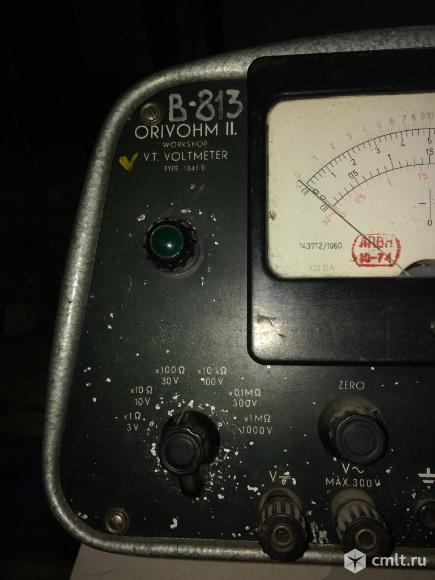 Вольтметр амперметр. Фото 1.