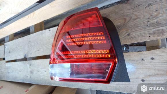для Volkswagen Polo Sedan рестайлинг фонарь задний левый фонарь задний правый номер 6RU945096E, 6RU945095L