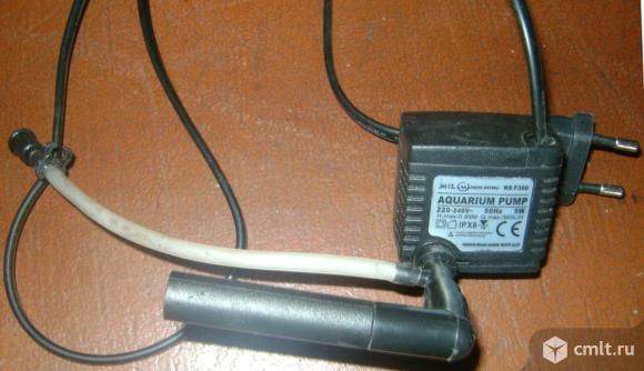 Аквариум, фильтр-компрессор, камни. Фото 4.